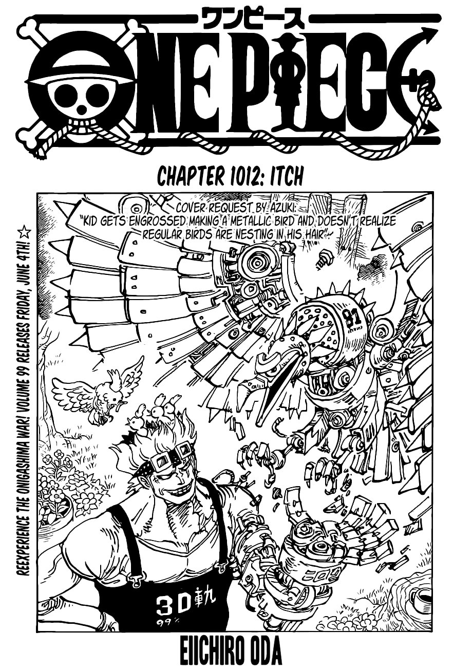 One Piece 1012 - Read One Piece Chapter 1012 Online